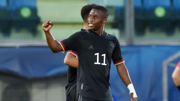 Youssoufa Moukoko erzielte beim U21-Debüt einen Doppelpack
