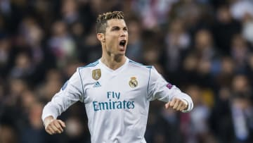 Cristiano Ronaldo reached the 100 goal mark for Real Madrid in 105 games