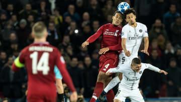 "Marquinhos e Van Dijk estão na lista | UEFA Champions League""Paris St Germain v Liverpool FC"""