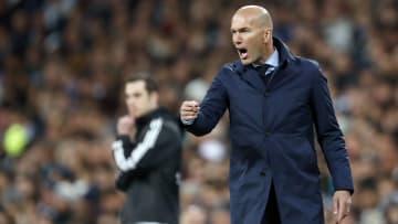 Zidane lors d'un match de Ligue des Champions contre la Juventus.