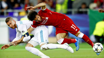 The Ramos-Salah narrative is back on!