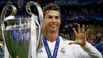 Cristiano Ronaldo has never not played in the Champions League in his career