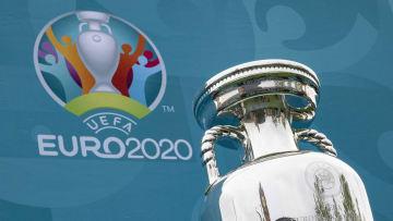 UEFA EURO 2020 Trophy Tour Arrives In London