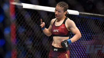 Weili Zhang vs Rose Namajunas UFC 261 strawweight title bout odds, prediction, fight info, stats, stream and betting insights.