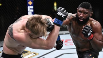 Curtis Blaydes vs Derrick Lewis UFC Vegas 19 heavyweight main event odds, prediction, fight info, stats, stream and betting insights.