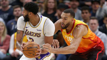 Anthony Davis and Rudy Gobert battled much of 2021 campaign for Defensive Player of the Year honors and are early favorites again on FanDuel.