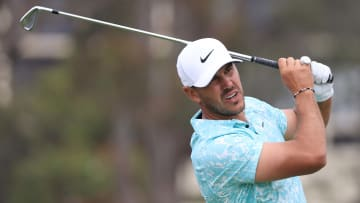 Brooks Koepka is one of the favorites to win the Travelers Championship.
