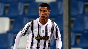 Cristiano Ronaldo contro il Sassuolo
