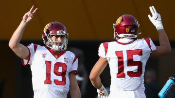 USC football quarterback Matt Fink