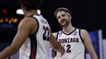 Gonzaga is the heavy favorite to win the 2021 NCAA Tournament National Championship heading into the Final 4 of March Madness.