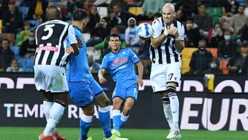 Il gol di Lozano all'Udinese
