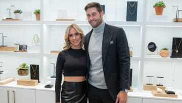Kristin Cavallari and Jay Cutler at the Uncommon James Store Opening