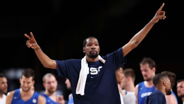Kevin Durant es el rey de los anotadores por Estados Unidos en los Juegos Olímpicos