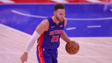 Blake Griffin, Utah Jazz v Detroit Pistons