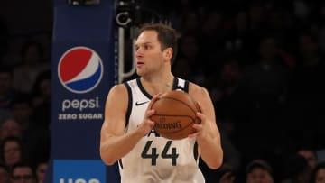 El alero de origen bosnio promedió 20.2 puntos por partido en la campaña 2019-20 de la NBA