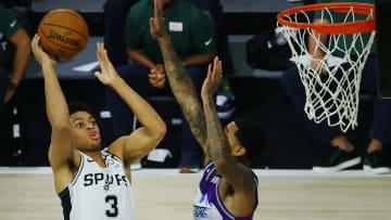 Keldon Johnson - Utah Jazz v San Antonio Spurs