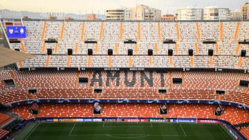 Heute endlich wieder gut gefüllt: das Estadio Mestalla, Heimstatt des FC Valencia
