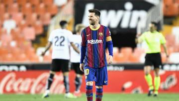 Messi marcó dos goles este fin de semana