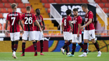 Milan have several younger stars in their squad