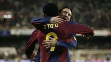 Samuel Eto'o, Lionel Messi