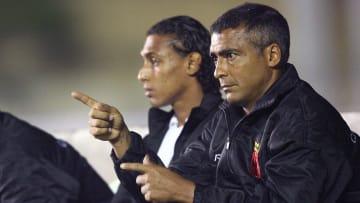 Vasco da Gama's coach Brazilian Romario