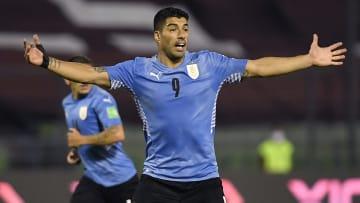 Luis Suarez et l'Uruguay ne seront pas disponibles sur FIFA 22.