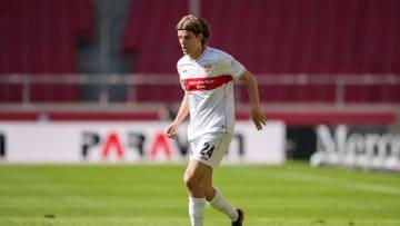 Borna Sosa absolviert eine ganz starke Saison für den VfB. Mit einem Debüt im DFB-Team wird es jedoch nichts.