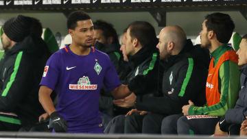 Serge Gnabry schlug bei Werder blitzartig ein