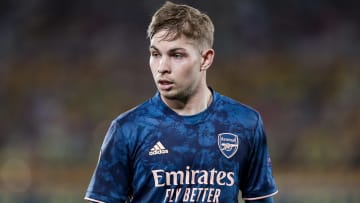 Emile Smith Rowe picked up a hamstring injury
