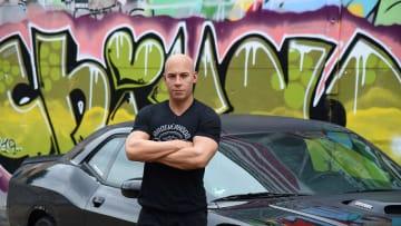 Vin Diesel Wax Figure