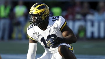 Three of the most likely NFL teams to draft Michigan defensive end Kwity Paye.