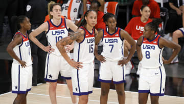Team USA is looking for a win heading into the Olympics.