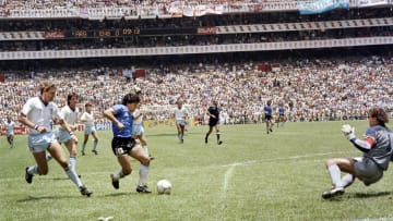 Maradona's goal brought pure ecstasy to millions of Argentinians