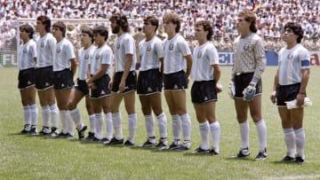 WORLD CUP-1986-ARGENTINA-TEAM
