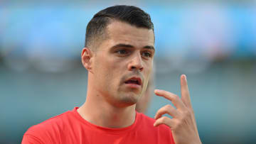 Granit Xhaka is likely to leave Arsenal this summer with Roma leading the race for his signature