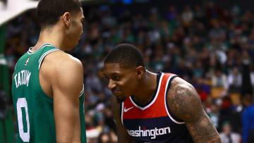 Boston Celtics and Washington Wizards stars Jayson Tatum and Bradley Beal