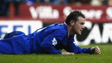 Wayne Rooney during his first stint at Everton