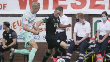 Julian Rieckmann (l.) geht seinen nächsten Karriereschritt beim 1. FC Magdeburg