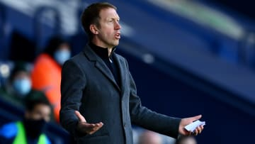 Graham Potter's Brighton create lots of opportunities but are woeful at converting them