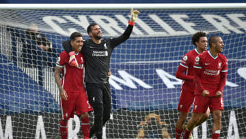 Alisson's Liverpool are still in the hunt for a Champions League spot