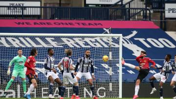 Bruno Fernandes a inscrit un but sensationnel face à West Brom ce dimanche et évite la défaite à son équipe.