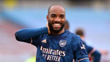 Alexandre Lacazette, en manque de temps de jeu à Arsenal, pourrait bientôt être sur le départ.