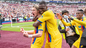 Conor Gallagher scored twice last time Crystal Palace played