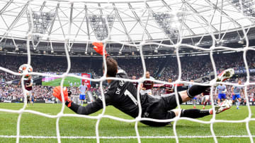 David de Gea's penalty save earned Manchester United all three points at West Ham