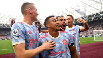Lingard scored the winner against West Ham
