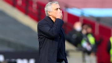 Mourinho sent for his Tottenham players again on Sunday