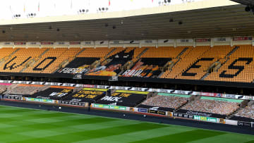 Wolverhampton Wanderers Fans Unveil a Crowdfunded banner Supporting Injured Striker Raul Jimenez