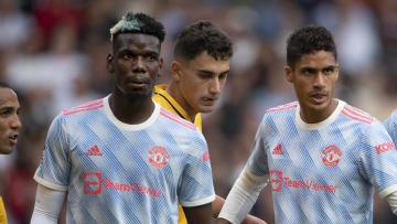 Paul Pogba, Raphaël Varane,  avec Manchester United cette saison - Premier League