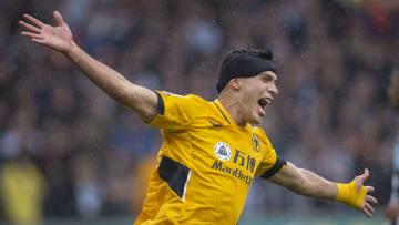 Raúl Jiménez está encendido con los Wolves