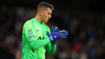 Gollini will likely start in goal